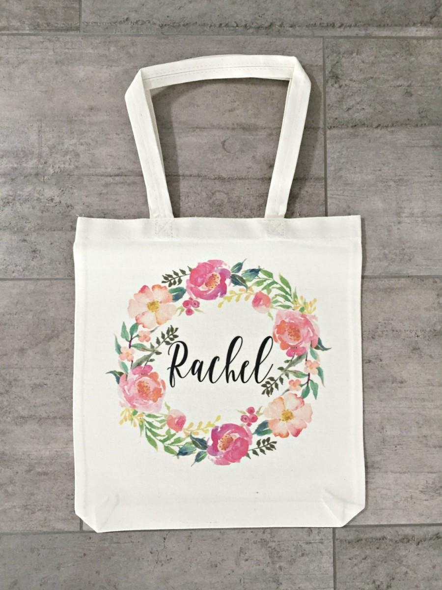 Mariage - Personalized Bridesmaid Tote