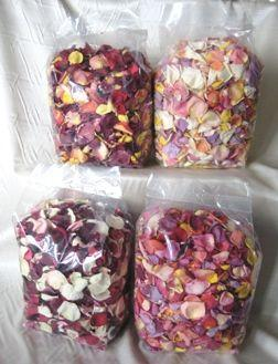 Wedding - Freeze Dried Rose Petals By Petal Garden