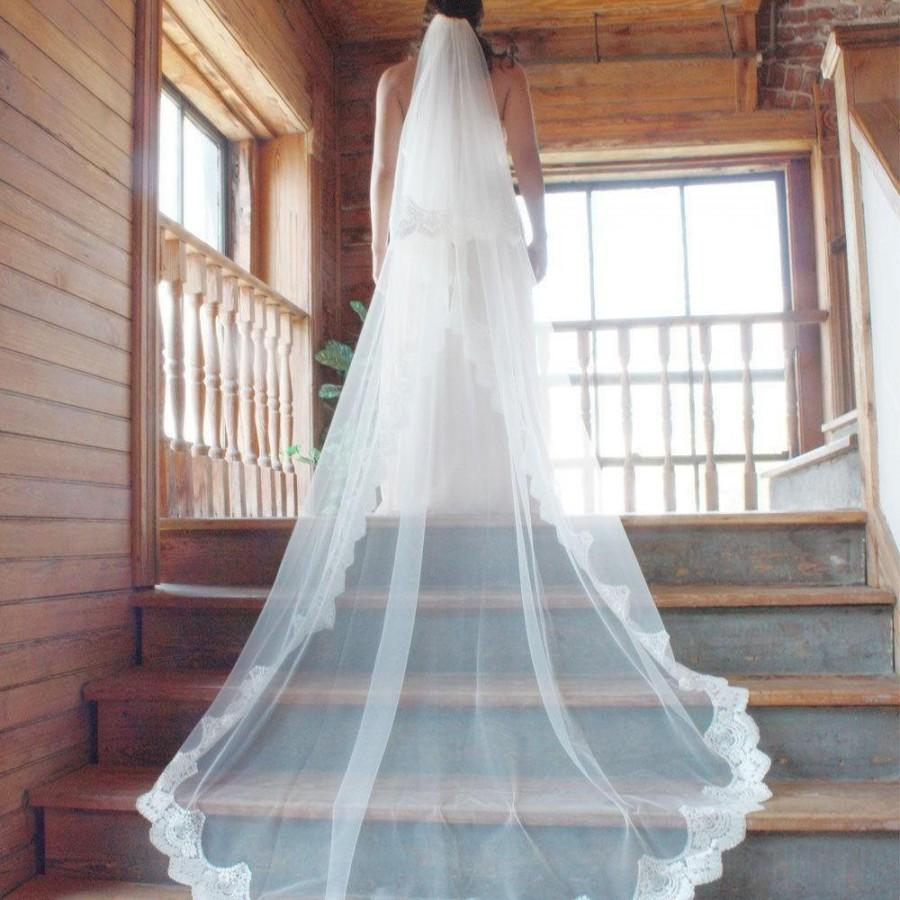 a97fee9e5c4d Cathedral Length Wedding Veils