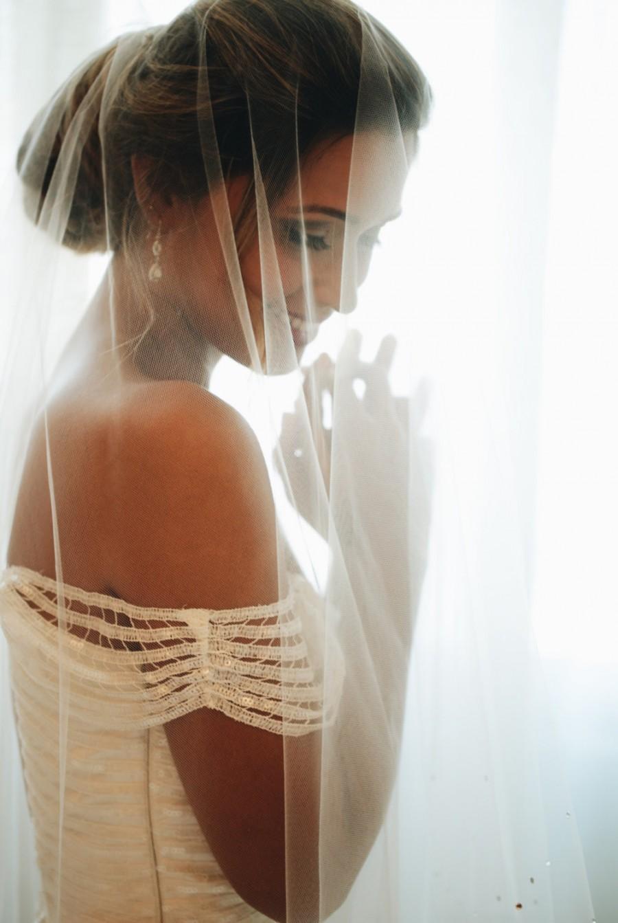 Свадьба - Drop Wedding Veil