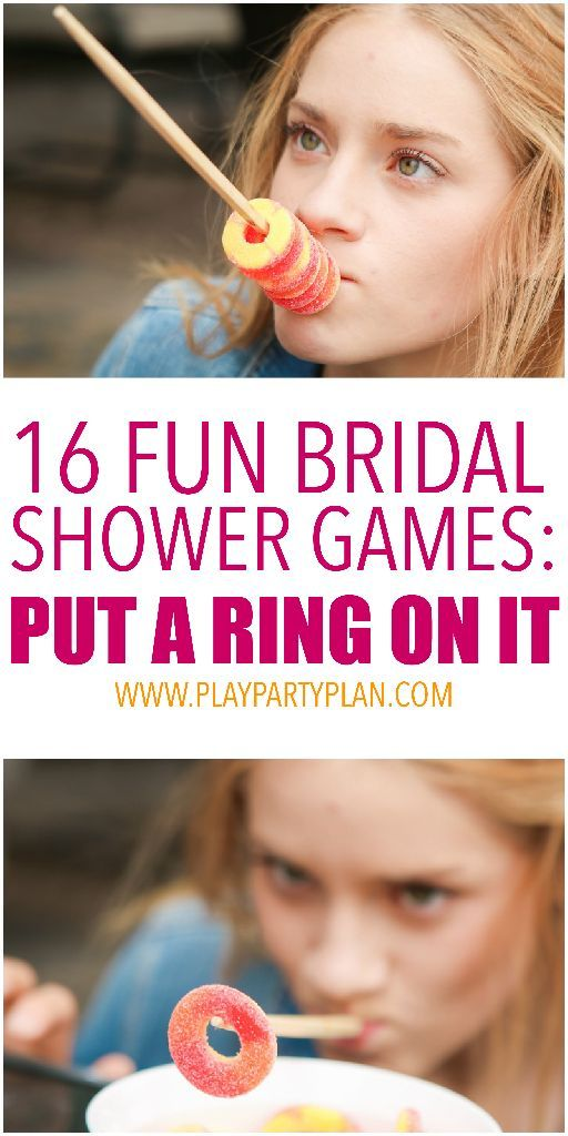 16 hilarious bridal shower games