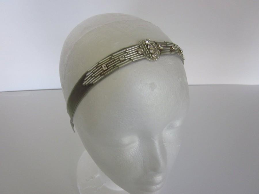 Mariage - Great gatsby headband, gatsby headpiece the great gatsby gatsby style headbands headband 1920 fashion 1920 costumes 1920 clothing flapper