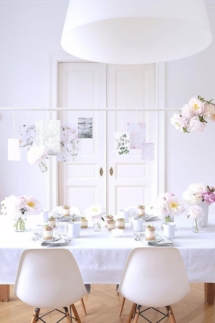 Hochzeit - Tabletop: Decorate With A Table Clamp   Rod