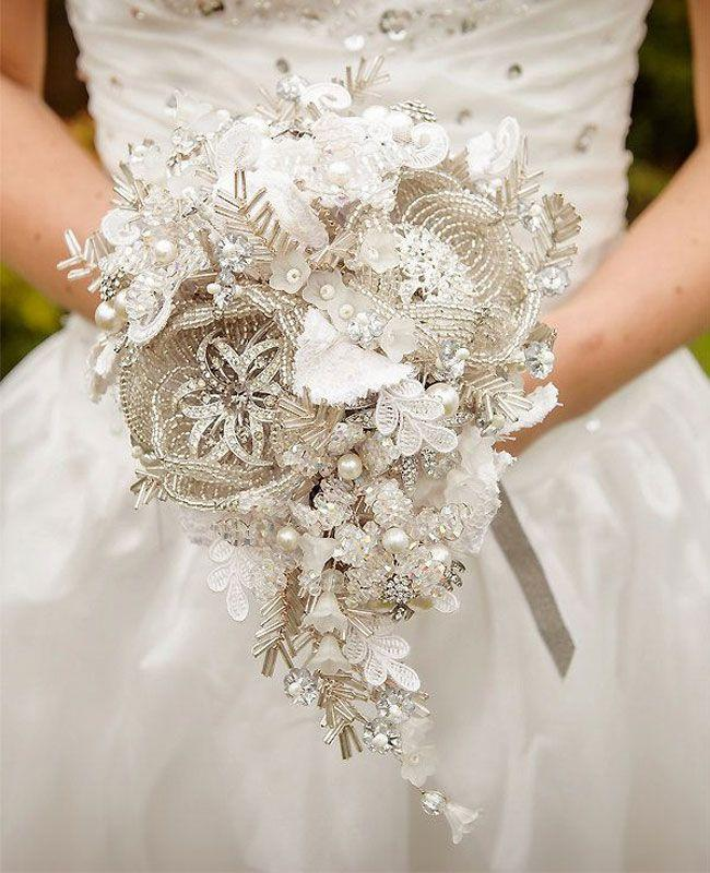 A Non Traditional Bridal Bouquet