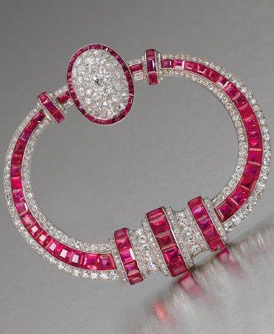 Hochzeit - Art Deco Ruby And Di Beauty Bling Jewelry Fashion - Beauty Bling Jewelry
