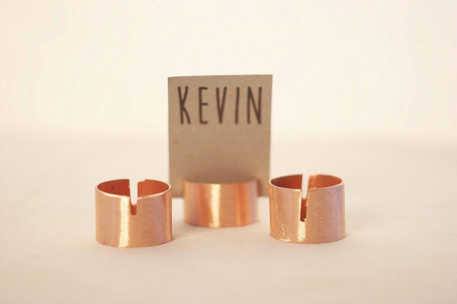 Genial 10 Pieces Rustic Copper Pipe Place Card Holders, Wedding Card Holders, Name  Card Holders, Copper Name Card Holder, Metal Table Card Holders