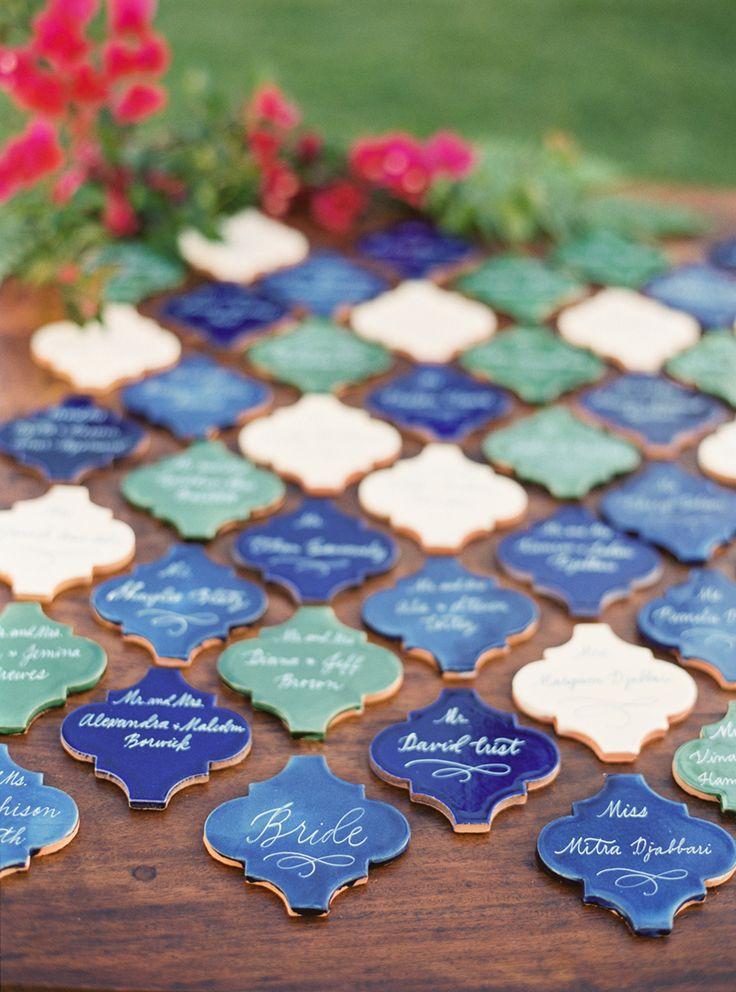 Свадьба - Shades Of Blue Santa Barbara Wedding