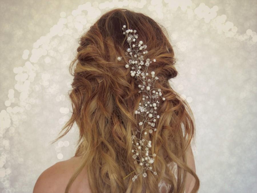Flower Crown Wedding Hair Piece Bridal Head Babies Breath Accessory Fl Boho