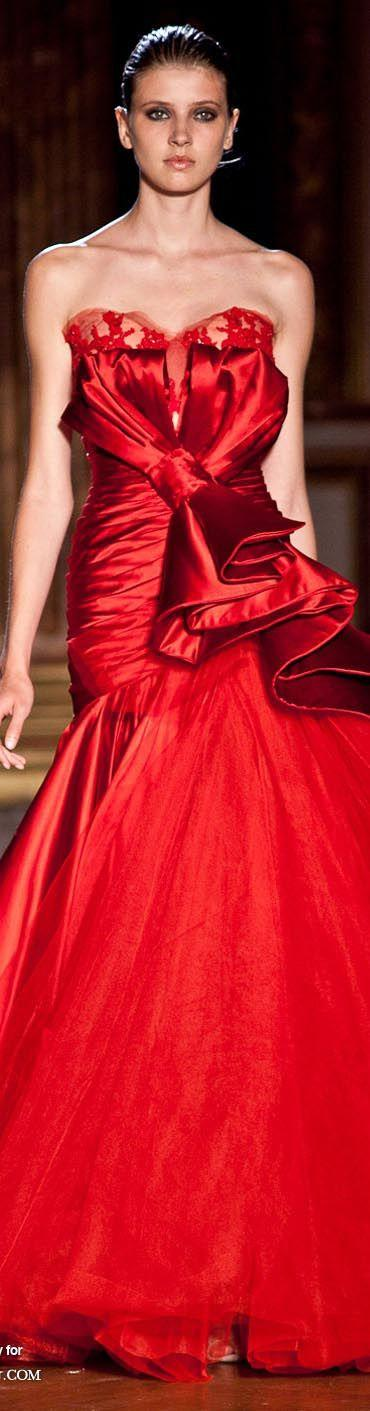 Mariage - Beautiful Red Couture