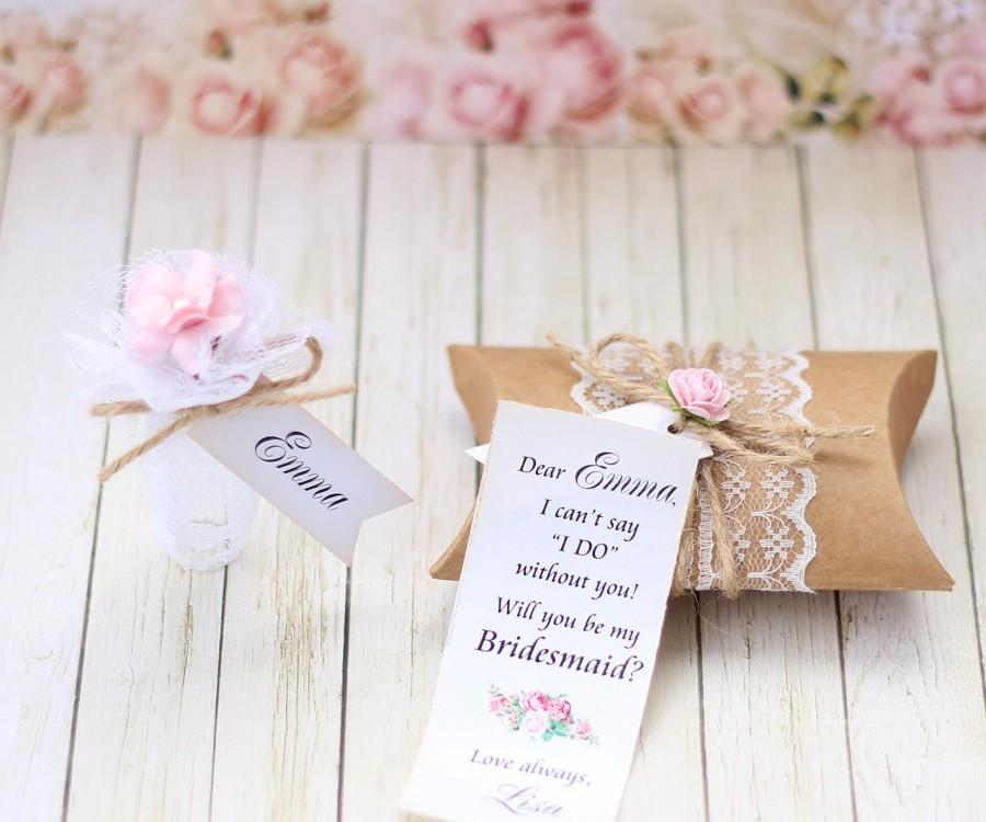 will you be my bridesmaid invitation message in a bottle bridesmaid