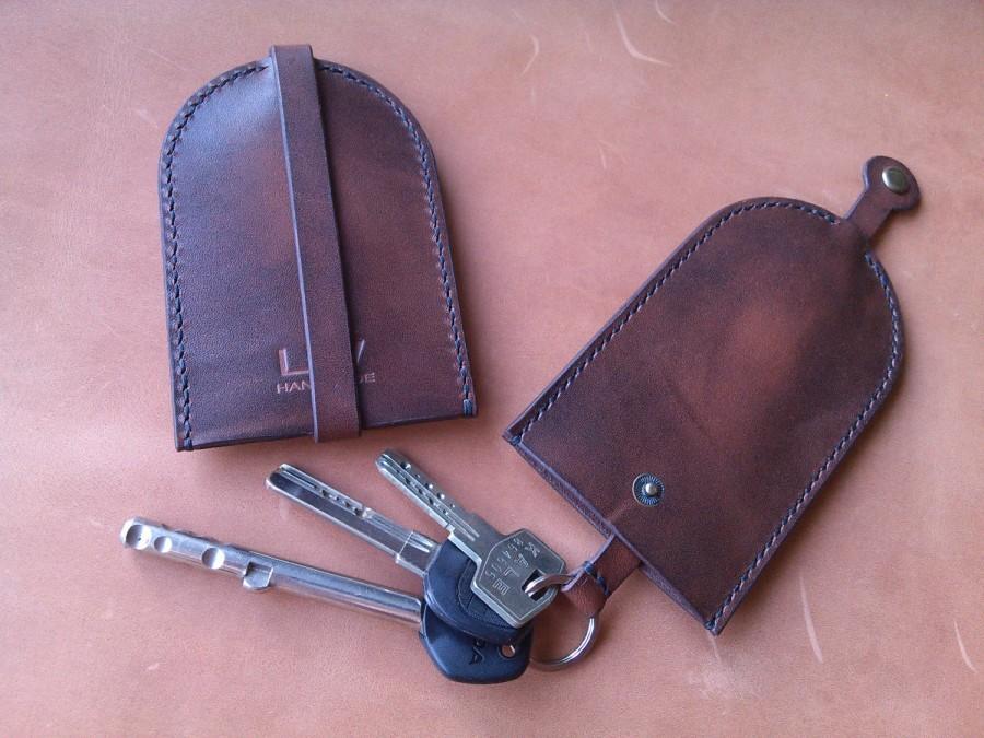 Boda - Key holder Leather keychain Leather key case