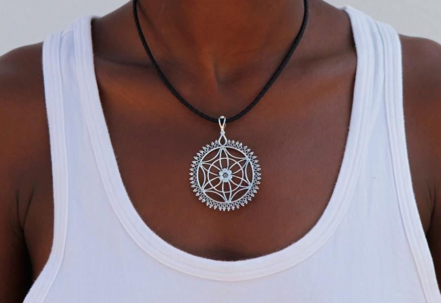 Mariage - Silver Pendant - Ethnic Pendant - Indian Pendant - Gypsy Pendant - Silver Tribal Pendant - Silver Ncklace - Tribal Necklace - Indian Jewelry