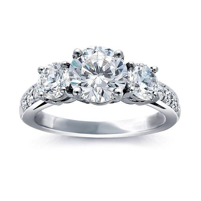 زفاف - Three-Stone Engagement Rings