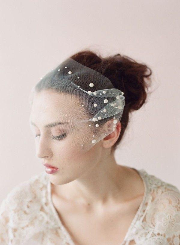 Mariage - Real Bride Katie: Veil Envy