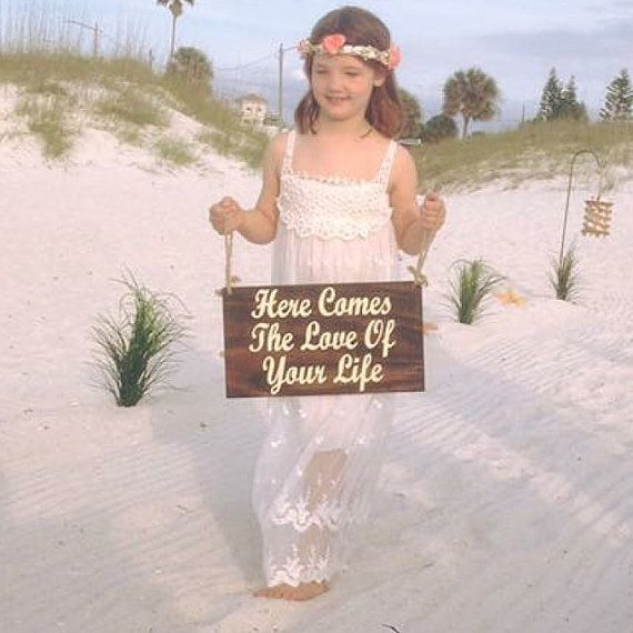 Mariage - Ring Bearer Signs/ Ringbearer Sign/Flower Girl Signs/Wedding Entrance/Wedding Ceremony Prop/Wedding Sign/Rustic Wedding/Country Wedding