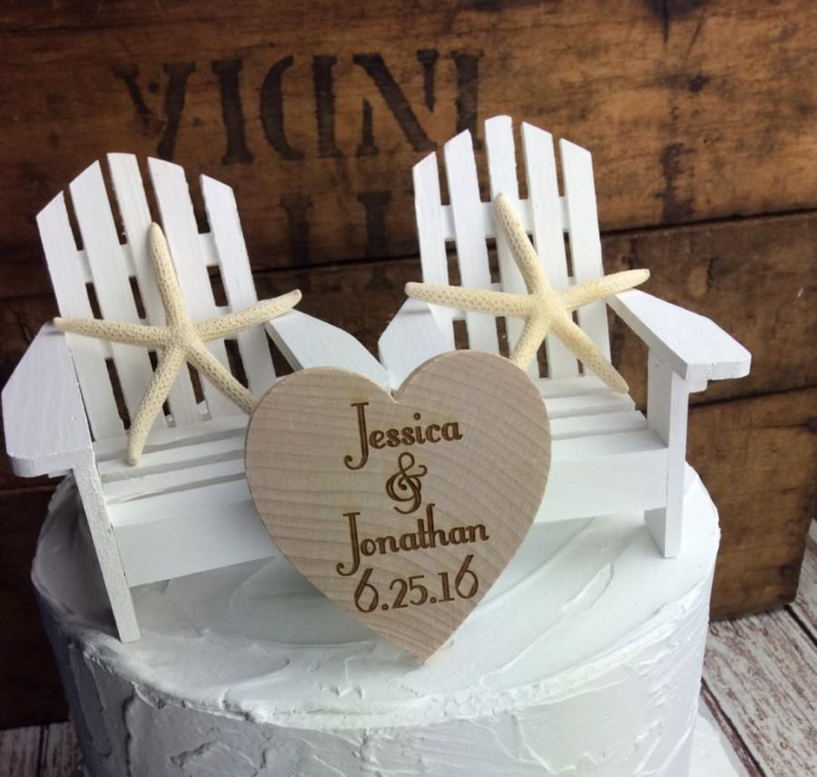 White Cake Topper White Chair Cake Topper White Wedding White