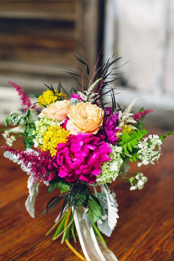 Свадьба - Colorful Wedding At Terrain