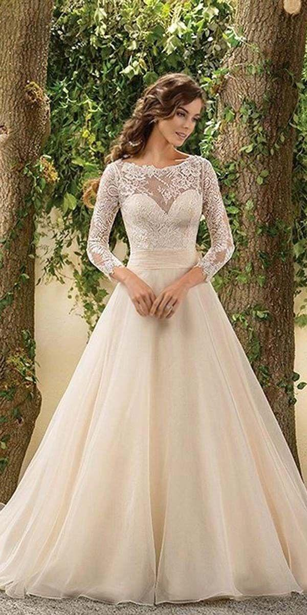 Mariage - 24 Chic Long Sleeved Wedding Dresses