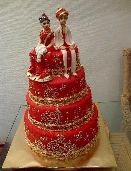 Свадьба - Wedding Cakes, Red. Indian Weddings Magazine
