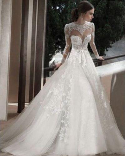 Mariage - New White/Ivory Bridal gown Wedding Dress Custom Size 6-8-10-12-14-16-18+
