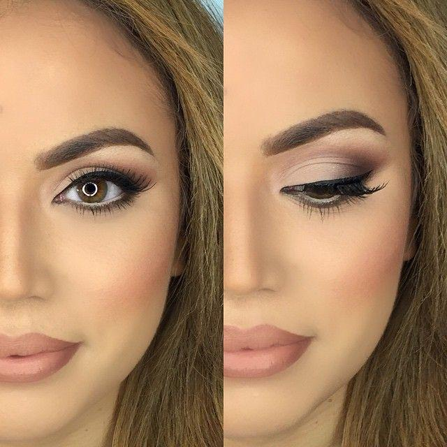 Glam Bridal Makeup : Ashley K Holm On Instagram: ? Bridal Glam Wearing ...