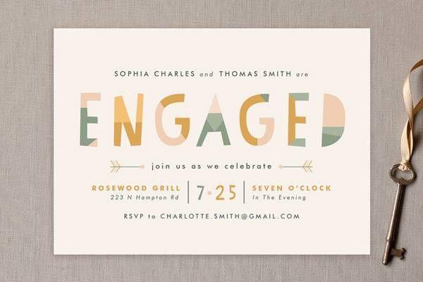Mariage - How To Plan A Simple Engagement Party