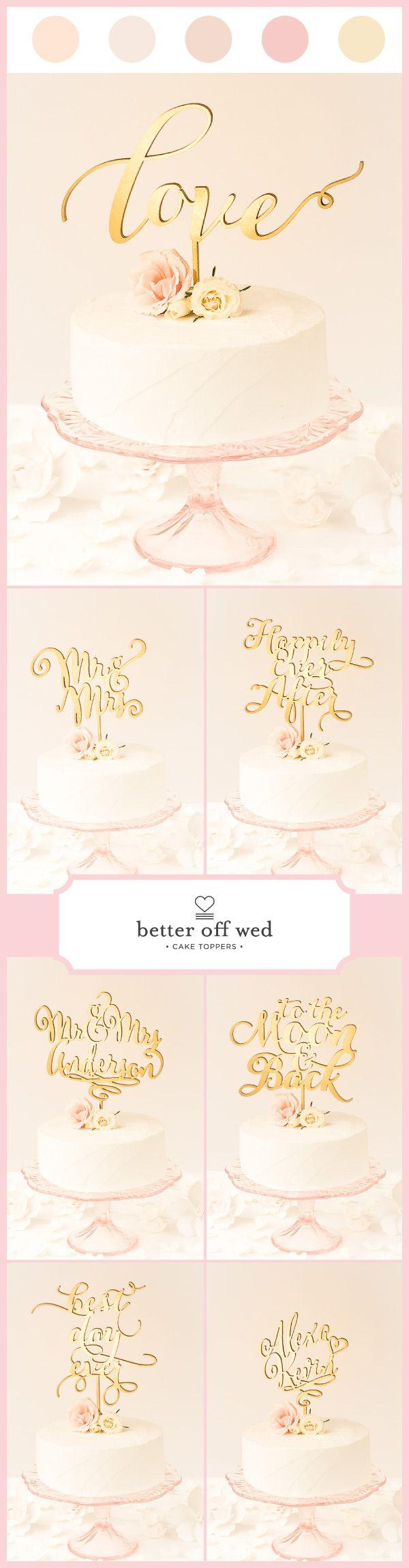 Mariage - Love Wedding Cake Topper