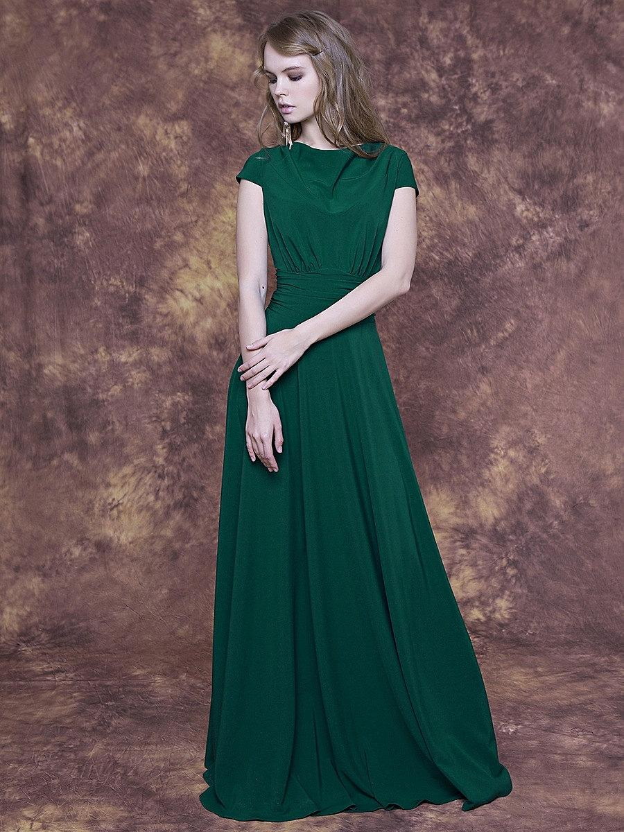 Long emerald green dress with cap sleeve emerald bridesmaid dress long emerald green dress with cap sleeve emerald bridesmaid dress emerald formal dress sage evening dress emerald party dress long ombrellifo Image collections