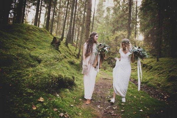 Свадьба - Wild And Beautiful Swedish Wedding
