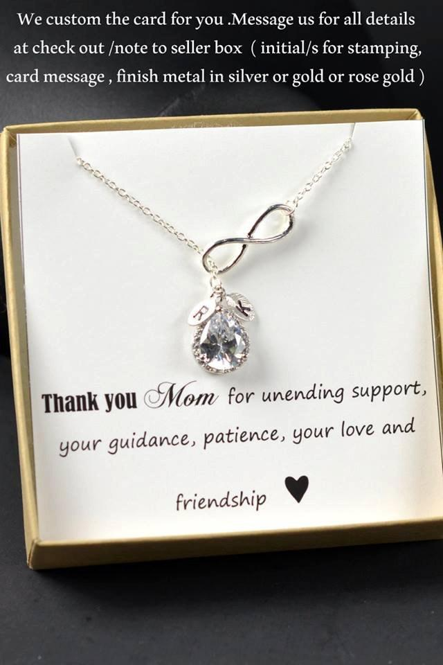 Mother Of The Bride Gift Personalized Bridesmaids Groom Gifts Bridal Party Jewelry Wedding