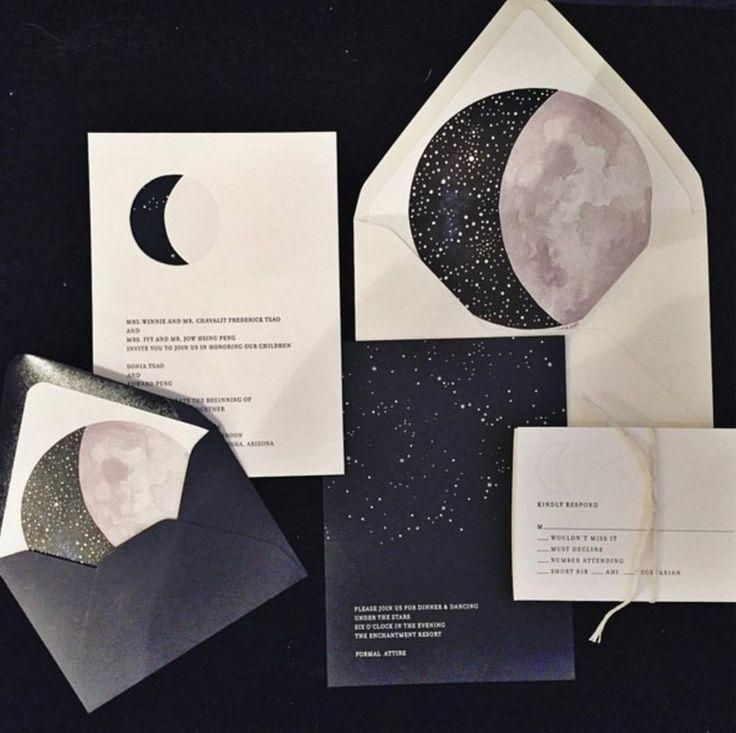LoverlyTM On Instagram Loving These Invites To The Moon Stars And Back Image Via Bethhelmsetter Weddingstyle