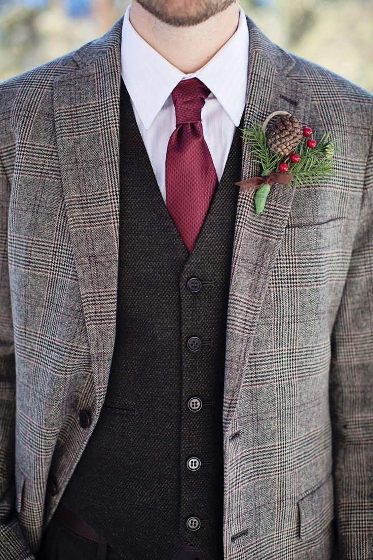 Mariage - 21 Patterned Suits To Dress Up Your Groom's Look