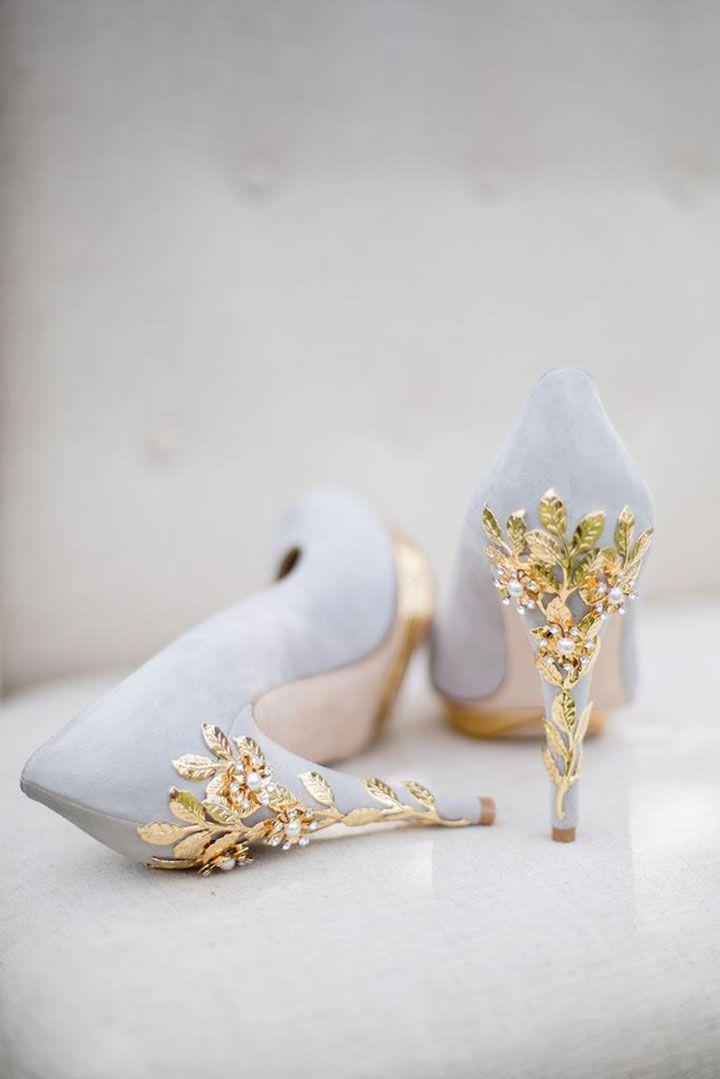 Lovely London Based Wedding Shoes By Harriet Wilde