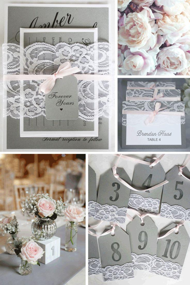 Grey And Pink Living Room Decor: Grey And Pink Wedding