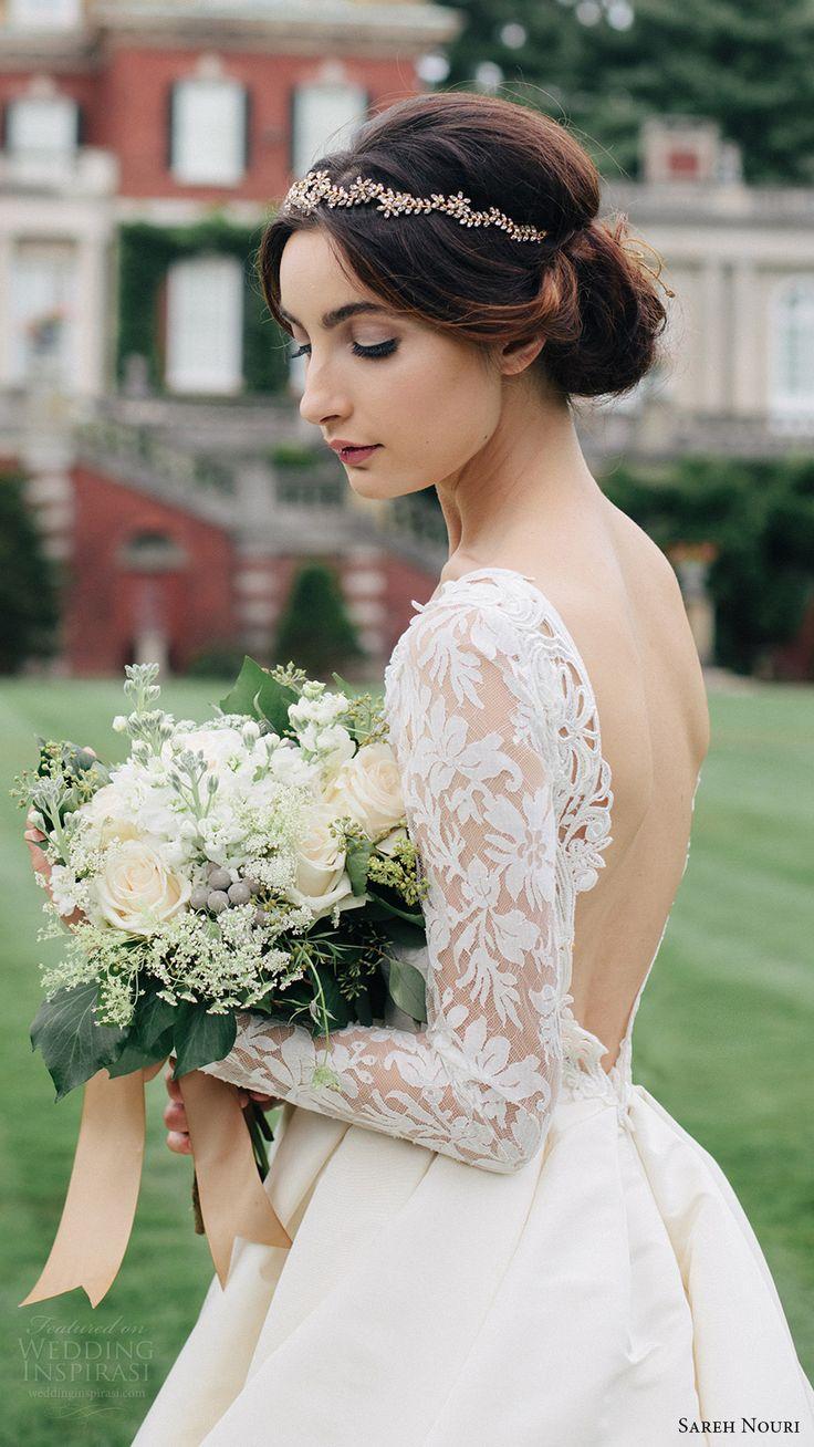 Wedding - Sareh Nouri Fall 2016 Wedding Dresses — Lookbook
