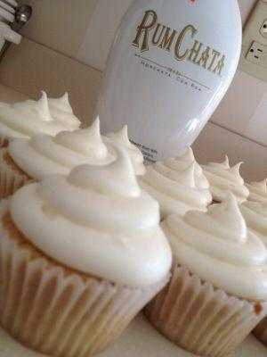 Wedding - RumChata Cupcakes