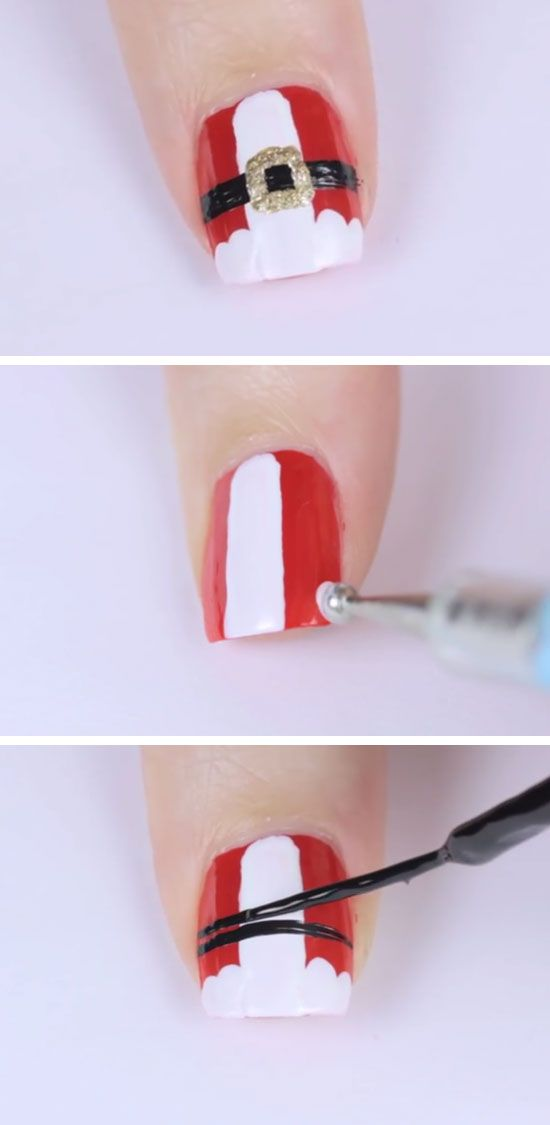 20 Adorable Christmas Nail Designs & Step By Step Tutorials #2539893 ...