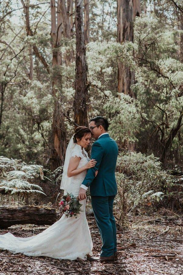 Свадьба - Mind-Blowingly Beautiful Destination Wedding Portraits In Western Australia