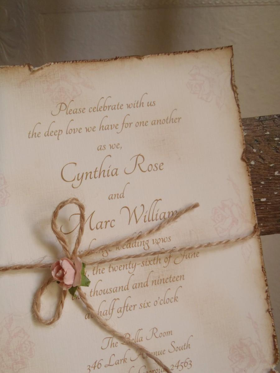Vintage, Blush Pink Rose, Romantic, Shabby, Rustic, Victorian ...