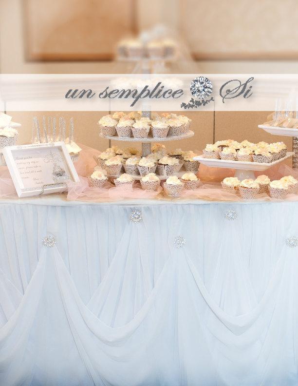 Свадьба - Cinderella Table Skirt