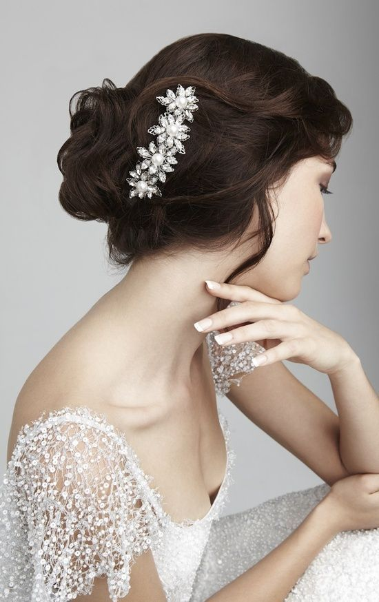 Свадьба - Beautiful Bridal Hair Accessories