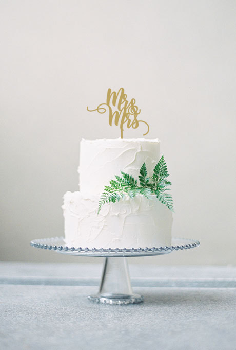 Mariage - Mr and Mrs Cake Topper - Wedding Cake Topper