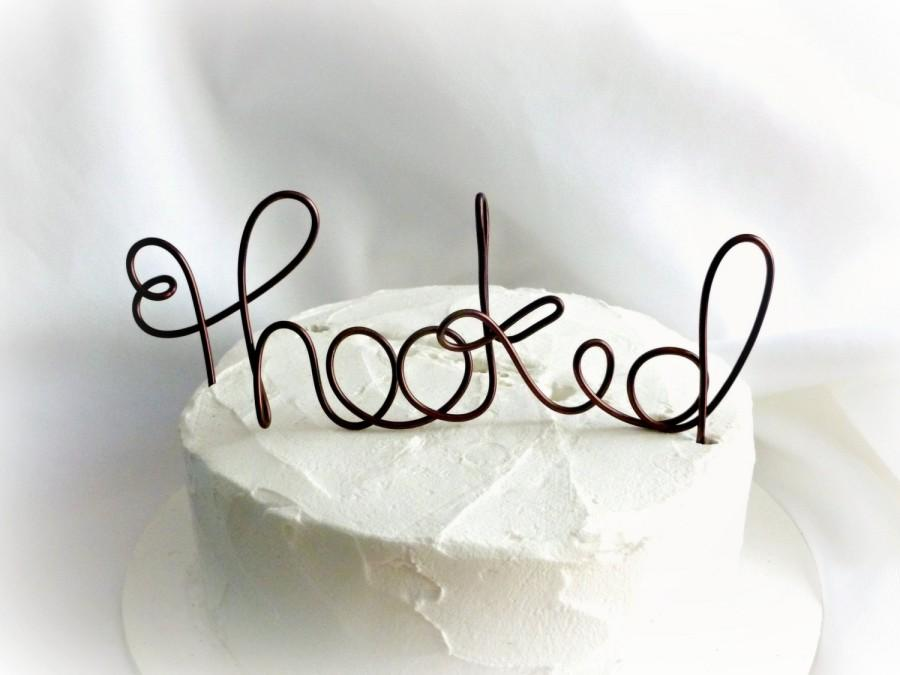 Mariage - Beach Theme Cake Topper,  Fishing Wedding Decor