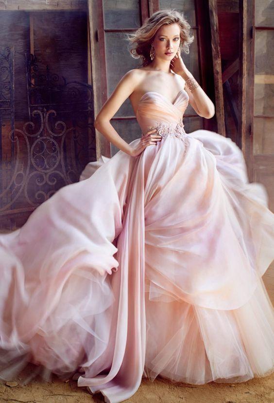 Dress Lazaro Wedding Dress 2540386 Weddbook