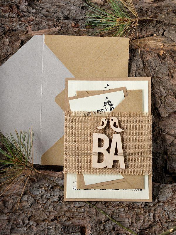 Wedding - WEDDING INVITATIONS Wood 07/wood/z