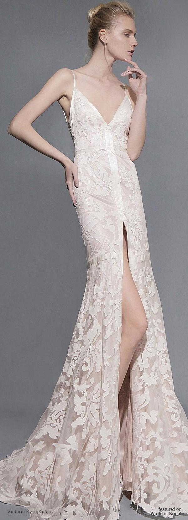 Wedding - Victoria KyriaKides Spring 2016 Wedding Dresses