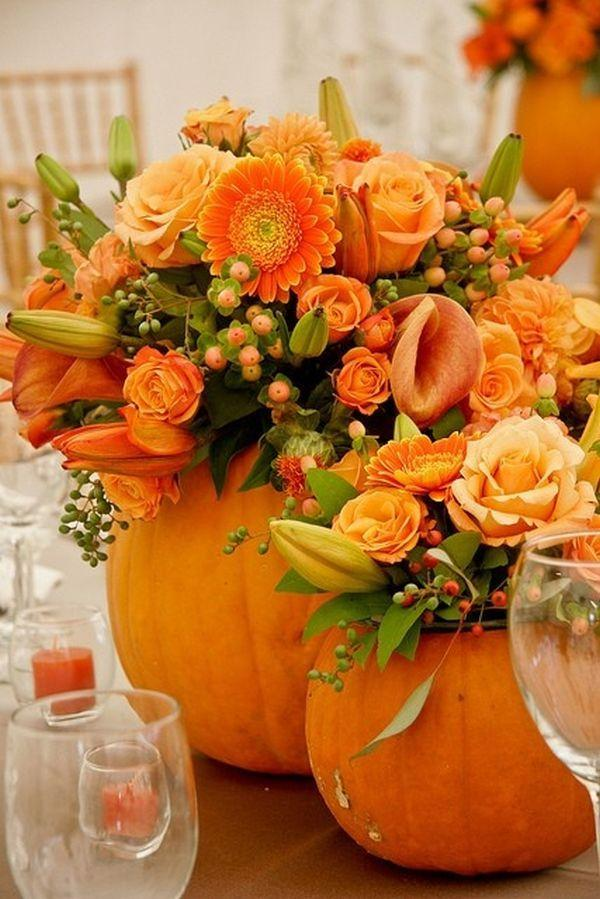 Wedding - 20 Centerpiece Ideas For Fall Weddings