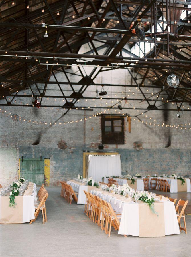 Свадьба - Not Your Average Warehouse Wedding