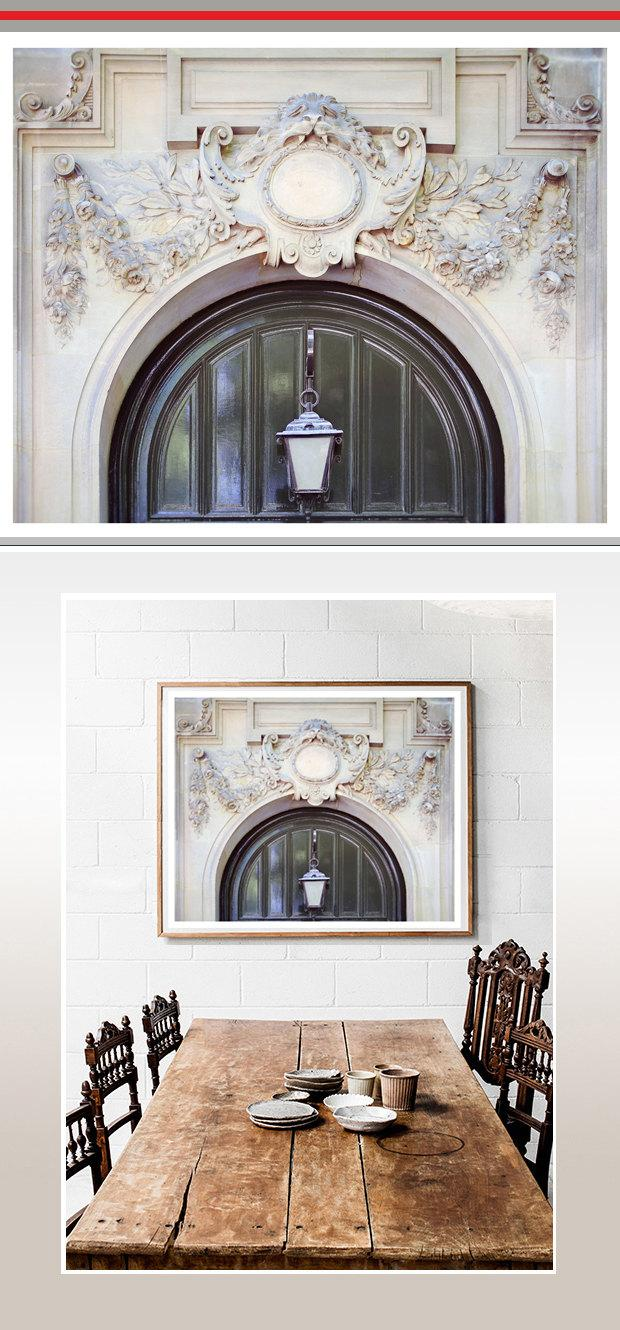 Large Architectural Wall Decor : Paris photography architectural art print extra large