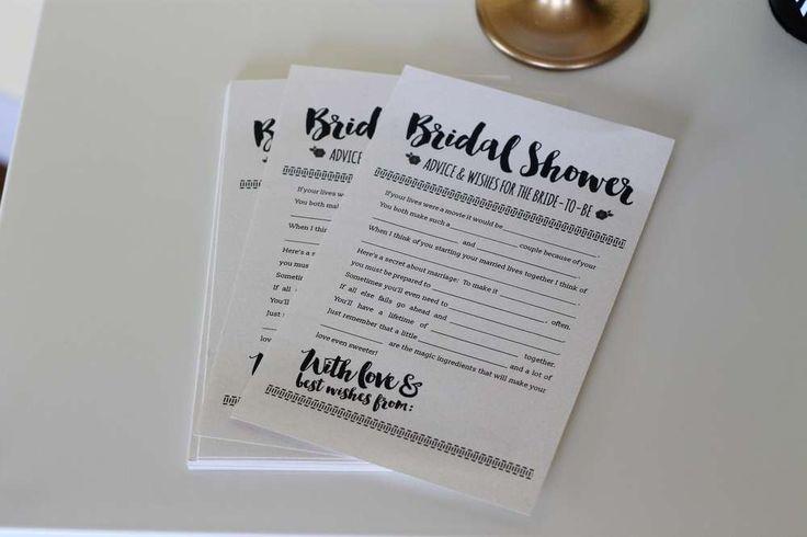 زفاف - Kate Spade Inspired Champagne Bar Bridal/Wedding Shower Party Ideas